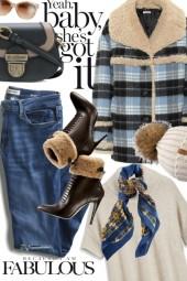 Plaid Serpa Coat