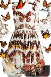 D&G Butterfly Dress