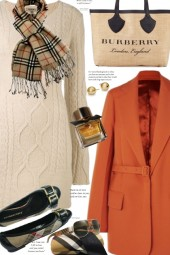 Sweater Dress And Burberry