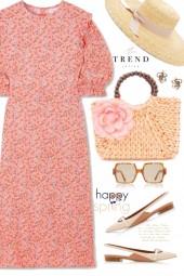 Floral Calico Dress