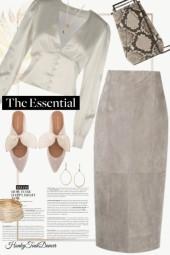 Taupe Skirt