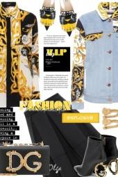 Versace meets DG outfit