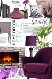 Violet home decor