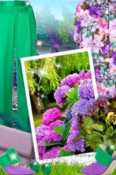 Purple & Green!
