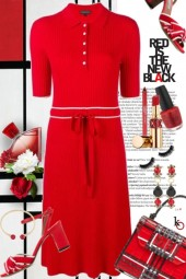 Lady in Red . . .