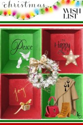 My Christmas Wish List . . .