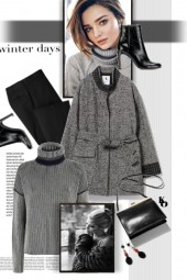 Winter Gray . . .