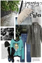 5 Day Weather Forecast:  RAIN