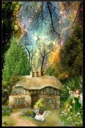 Gaelic Fairy Cottage