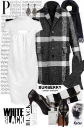 Burberry in Black & White