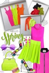 Spring Trend :  NEON