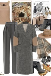 Autumn in Beige & Grey