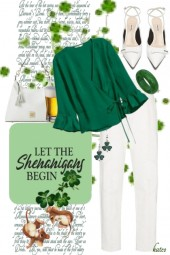 Saint Patrick's Day Shenanigans with . . . .