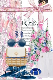 Summer in Pink and Blue