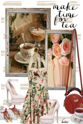 Tea Time in the Summer !!