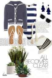 Navy & White !!