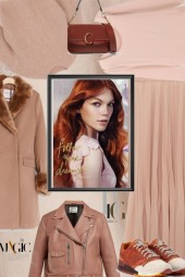 Brown and Blush