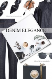 Denim Elegance