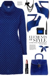 Blue Sweater Dress!