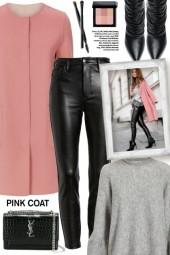 Pink Max Mara Coat!