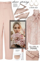 Pink Bow Blouse!