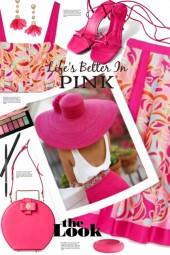 Pink Look!