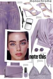 Lavender Denim!