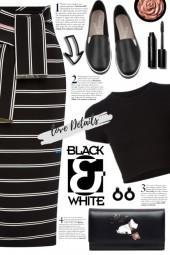 Stripe Pencil Skirt!