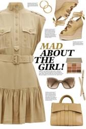 Safari Style Dress!