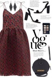 Floral Print Midi Dress!