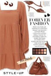 Tan Tiered Dress!
