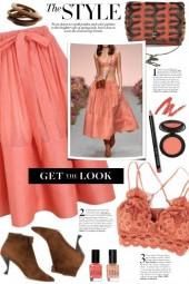 Tie Waist Full Skirt!