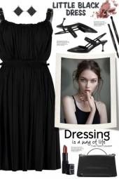 Alexander McQueen Black Dress!