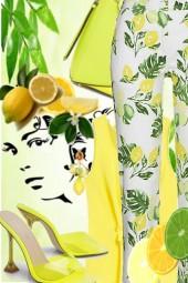 Lemon and green