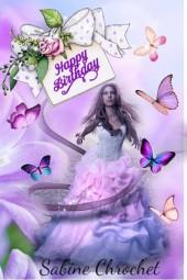 Happy Birthday Sabine Chrochet