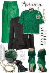Green and black 13