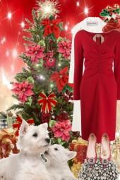Red Christmas dress 23