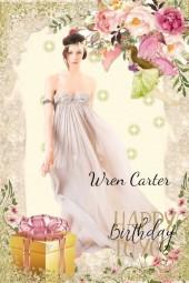 Happy Birthday Wren Carter