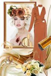 Brown dress 15/1