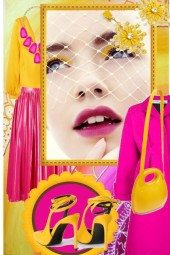 Yellow and pink 21