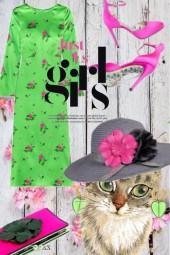 Grønn kjole 1-5