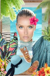 Tropical print 10-7