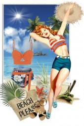 På stranda 20-7