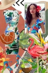 Tropical print 4-8