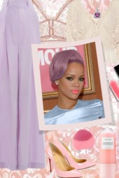 What to Wear With Lavender Hair