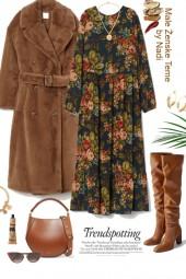Camel Coat Bohemian Edit