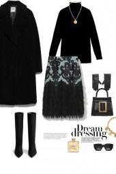 Midi skirt Winter edition