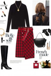 One more midi skirt outfit