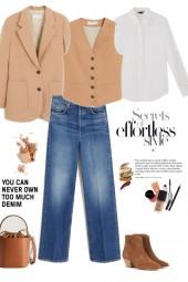Jeans   white shirt