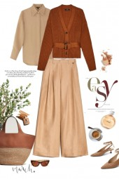 Earth tones in Spring version